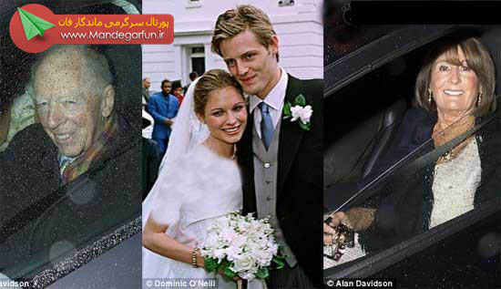 ازدواج جالب این زوج میلیاردر به ساده ترین شکل