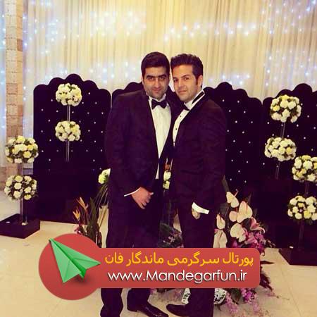 عکس از مراسم عروسی عماد طالب زاده