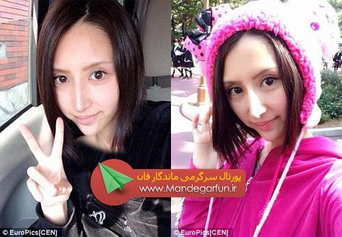این دختر زیبا خود را با عمل زیبایی زشت کرد