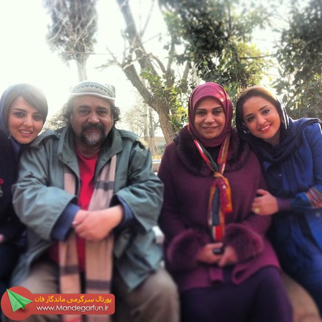 نرگس محمدی کنار محمدرضا شریفی نیا+عکس