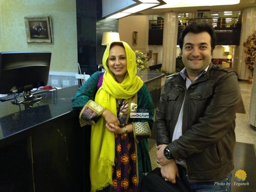 بهنوش بختیاری و امیر جوشقانی در بندر عباس +عکس