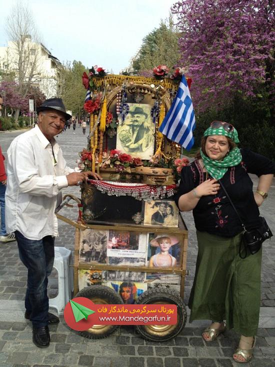 عکس| حجاب افتضاح بهاره رهنما در خارج