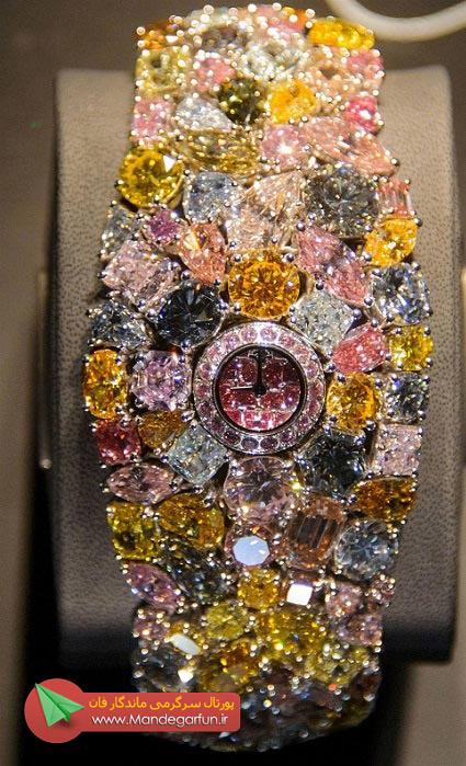 خانم ها از این ساعت مچی میخواهید؟!