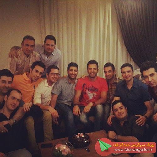 جشن تولد سیروان خسروی با حضور دوستانش !+ عکس