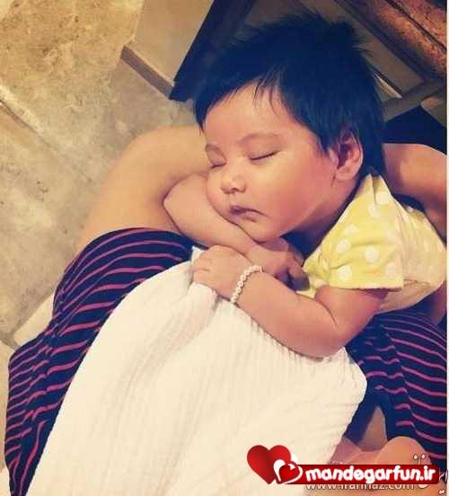 عکس جدید همسر و دختر شادمهر عقیلی