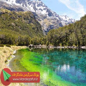 زلال ترین دریاچه ی زیبای دنیا + تصاویر