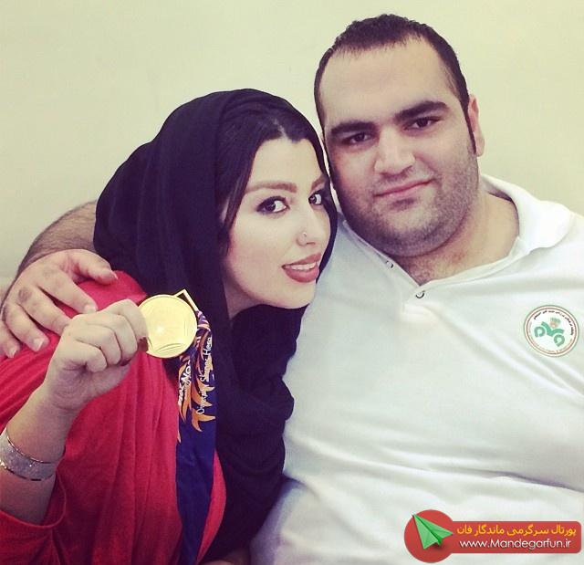 جدیدترین عکس های بهداد سلیمی و همسرش بعد از بازی های اسیایی اینچئون