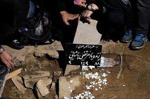 """شبانه دفن کردن خواننده محبوب ایران """"مرتضی پاشایی"""" +عکس"""