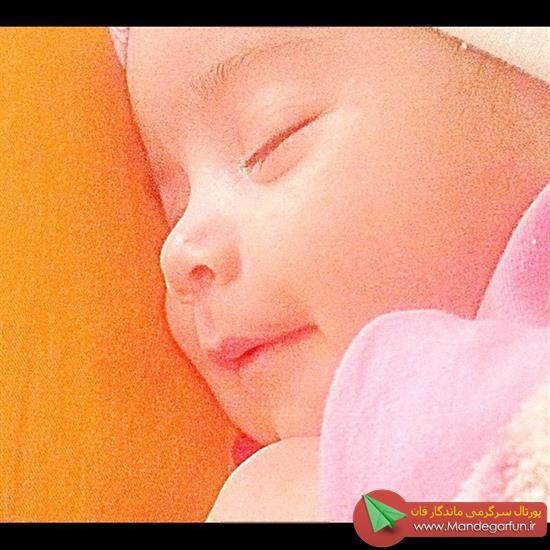 عکس دختر محسن یگانه