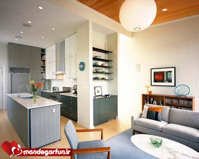 مدل های جدید دکوراسیون آشپزخانه در سال 2014