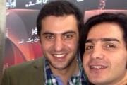 عکس جالب محسن یگانه در آغوش سید علی ضیا