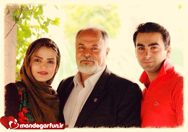 سپیده خداوردی در کنار همسر و پدرش+عکس