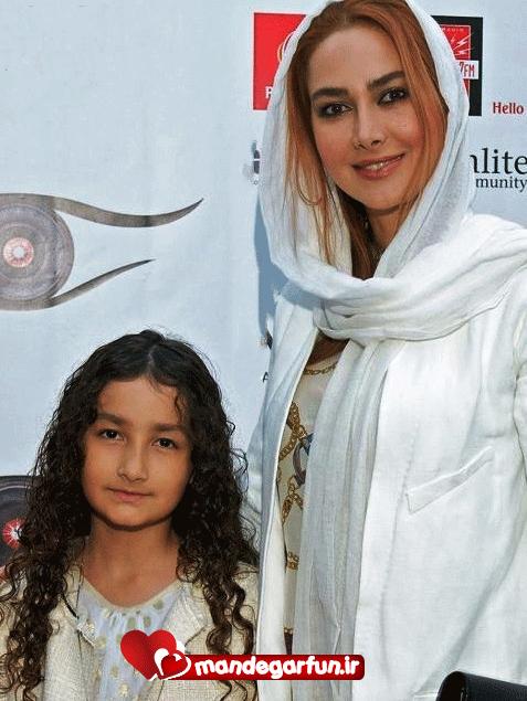 عکس جالب آنا نعمتی و دخترش در لس آنجلس