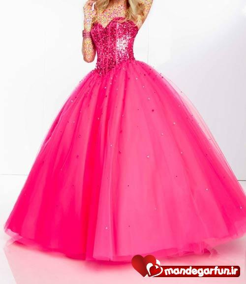 مدل زیبای لباس مجلسی 2014