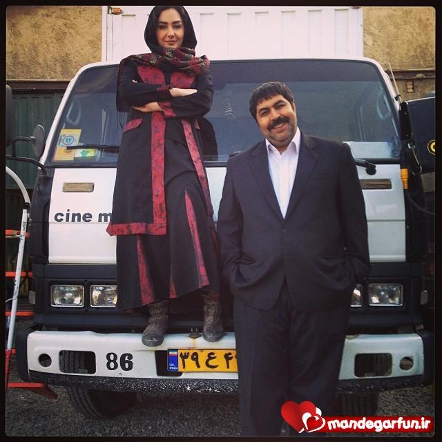 عکس جالب فرهاد اصلانی و هانیه توسلی