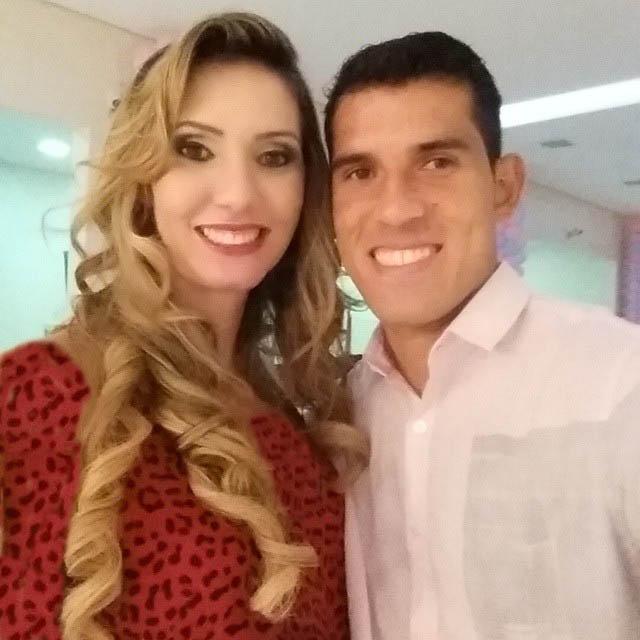 عکس لورفته از گابریل و همسرش !