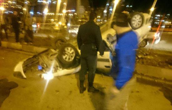 مسابقه خیابانی زانتیا و آزرا در تهران 2 کشته داشت!