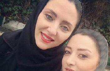 مهسا کرامتی و خواهرش / عکس