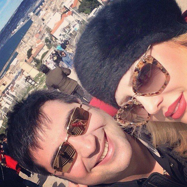 عکس جدید نیوشا ضیغمی و همسرش