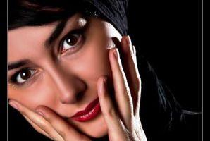 عکس از چهره بدون آرایش هانیه توسلی