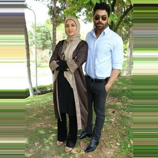 عکس دیده نشده از روناک یونسی و همسرش