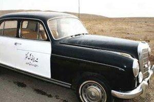 عکس از اولین ماشین پلیس در ایران