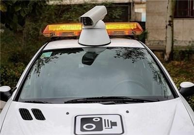تصاویری از خودروی جدید دوربین دار پلیس